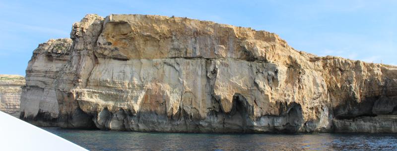 Restos del Azure Window en Gozo
