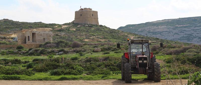 Torre de Dwejra en Malta