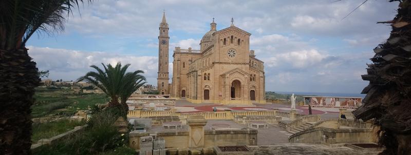 Basílica de Ta' Pinu en Gozo