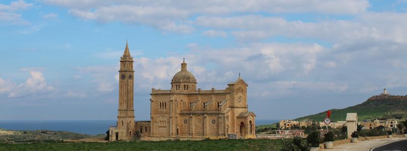 Basílica de Ta Pinu en la Isla de Gozo