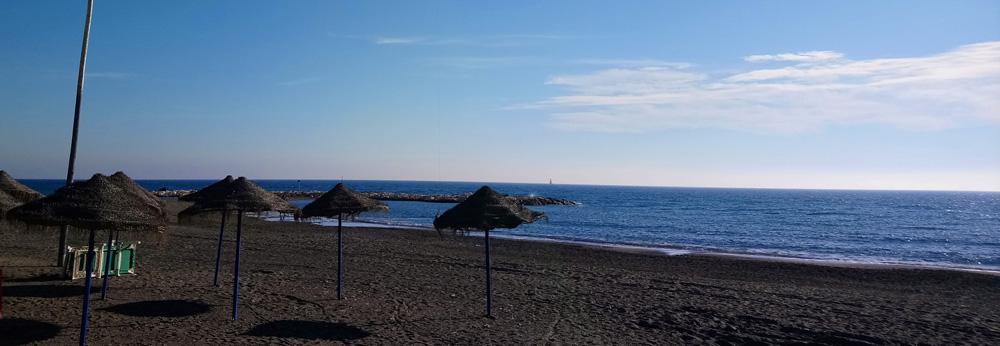 Sol en la Playa de El Palo