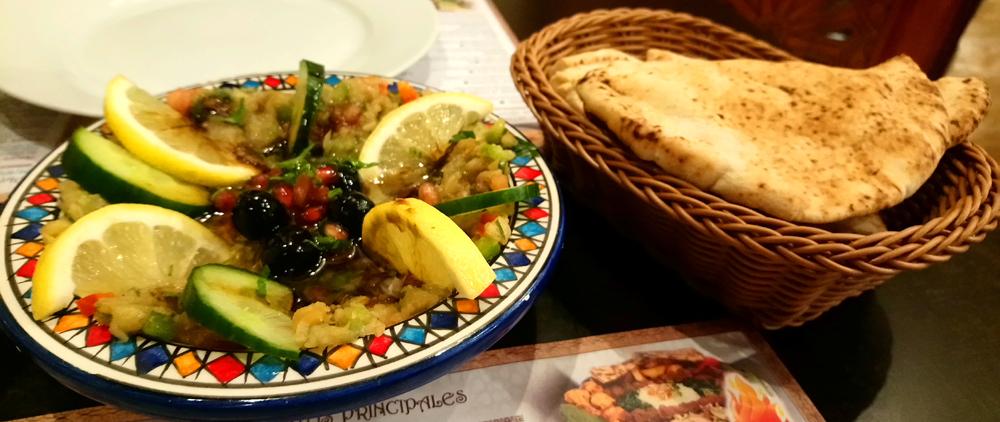 Restaurante árabe Al Wadi de Sevilla