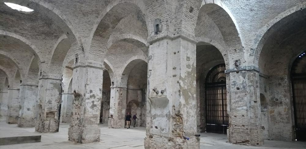 Bóvedas de la Real Fábrica de Artillería de Sevilla