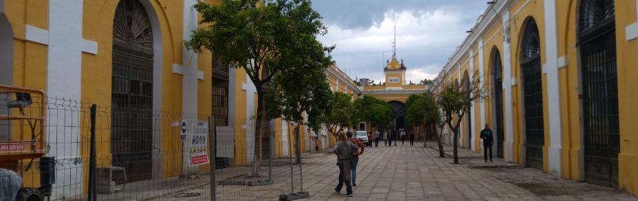 Calle Central Real Fábrica de Artillería de Sevilla