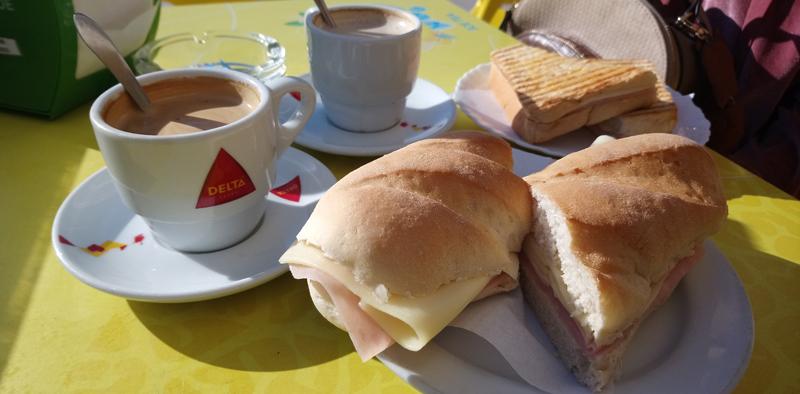 Barhon, un lugar para desayunar en Albufeira