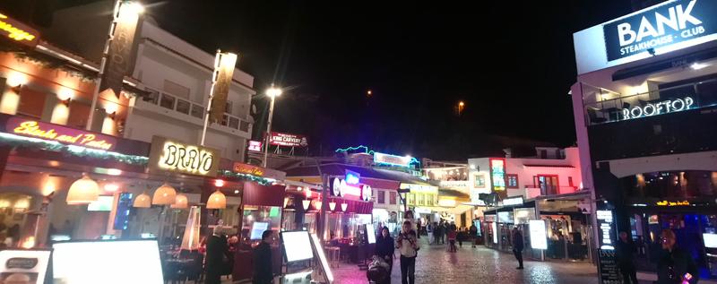 Noche en Albufeira