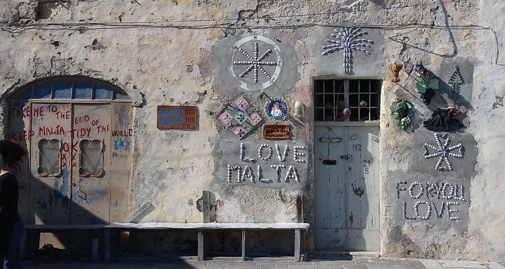 Love Malta, la casa de las conchas