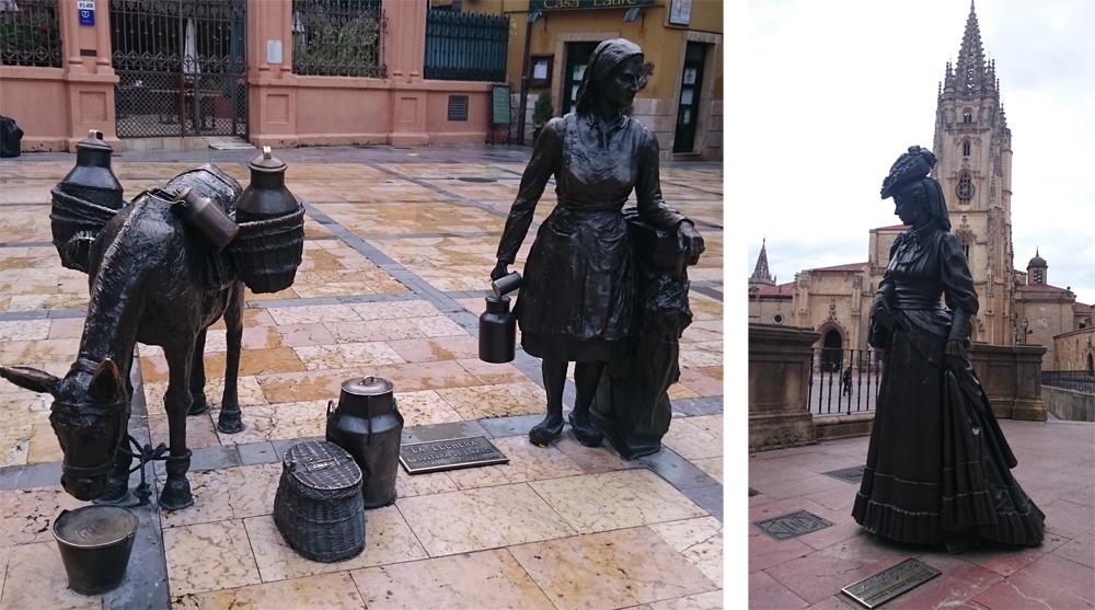Estatua de la Regenta en Oviedo