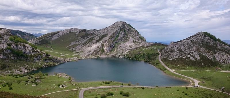 Lago Enol, uno de los Lagos de Covadonga