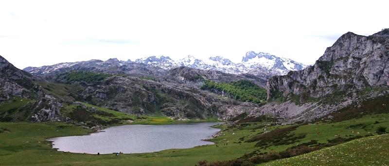En Asturias vimos el Lago Ercina