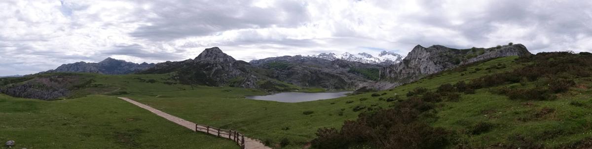 Lagos de Covadonga en Picos de Europa, Asturias