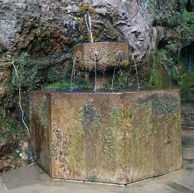 Leyenda de la fuente de los siete caños de Covadonga