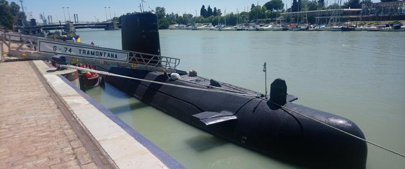 Submarino en Sevilla