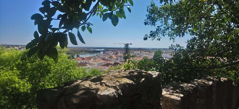 Vista panorámica de Tavira