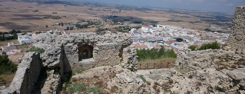 Cañones en el Castillo de Medina Sidonia