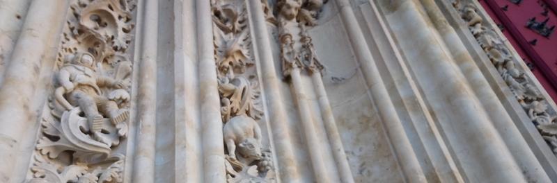Astronauta de la fachada Catedral de Salamanca