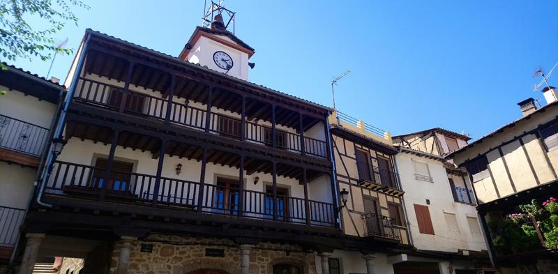 Balcón típico de la Sierra de Francia