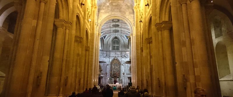 Interior de la Catedral de Lisboa