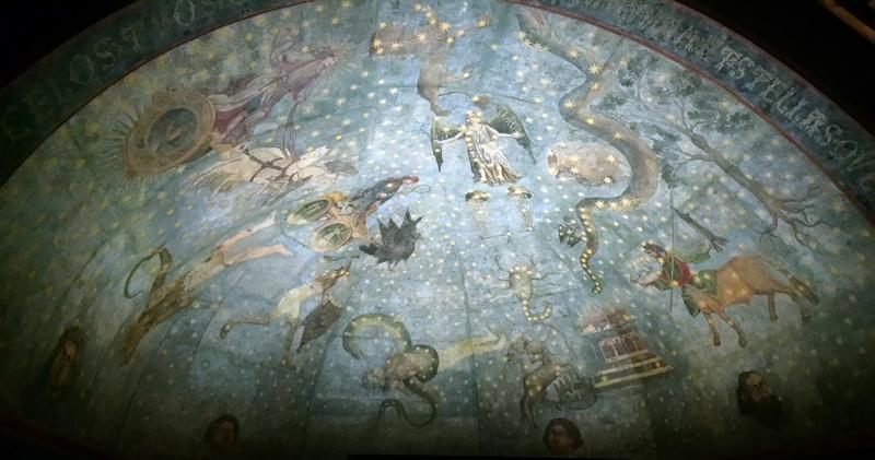 Mural del Cielo de Salamanca