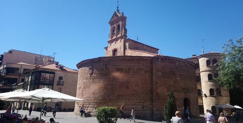 Iglesia redonda en Salamanca
