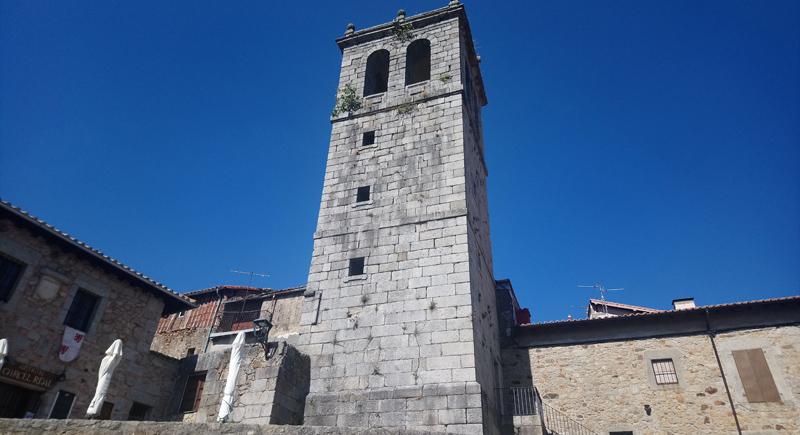 Iglesia de Santiago y San Ginés de Arlés en Miranda del Castañar