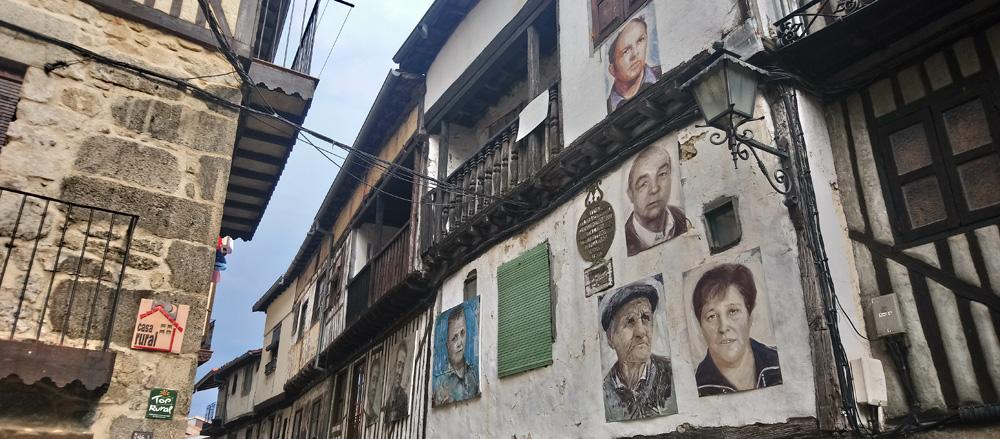 Mogarraz, el pueblo de las fotos