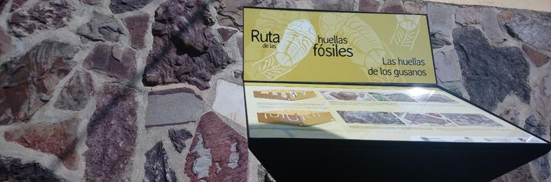Ruta de los Fósiles en el pueblo de Monsagro