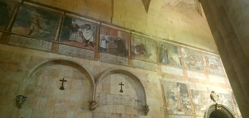Dibujos de la Catedral Vieja de Salamanca