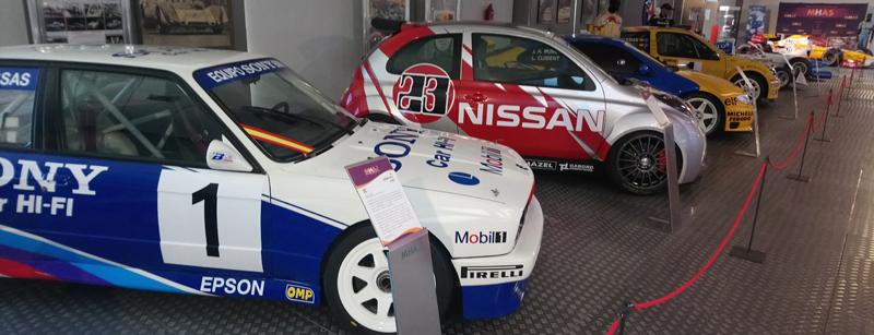 Rally en el Museo del coche de Salamanca