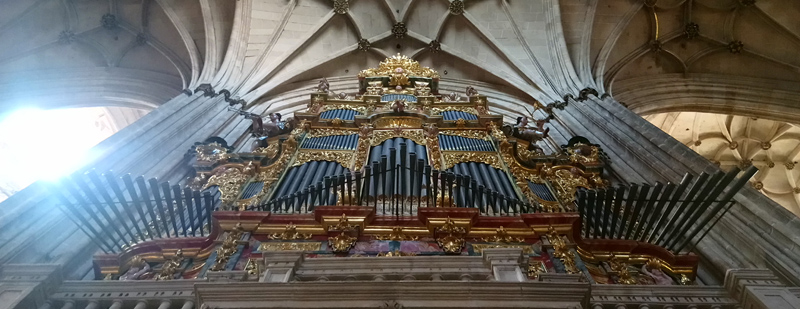 Órgano de la Catedral de Salamanca