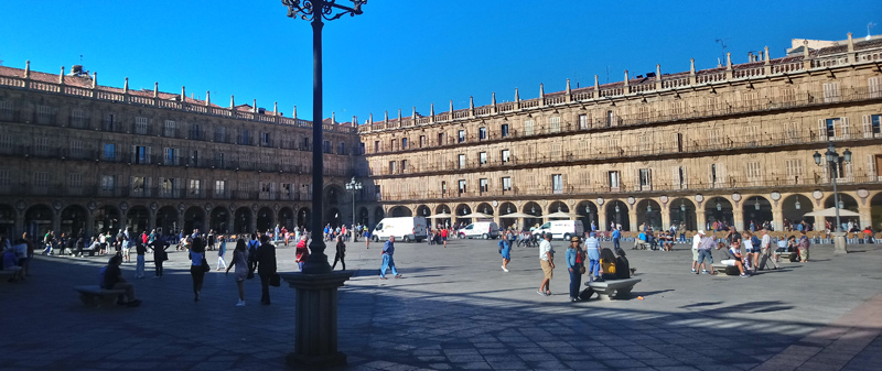 Foto de la Plaza Mayor de Salamanca