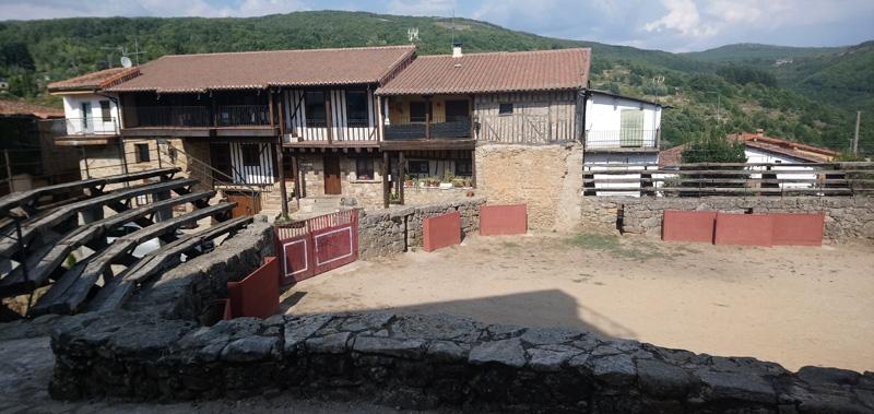 Plaza de toros en San Martín del Castañar