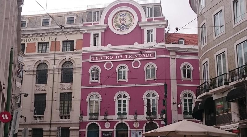 Teatro da Trindade en El Chiado, Lisboa