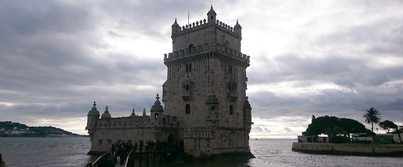 Torre de Belem en el río Tajo