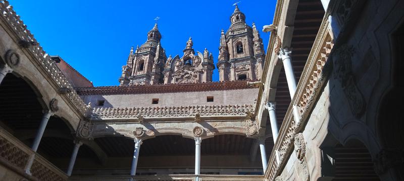 Torreones de la Clerecía de Salamanca