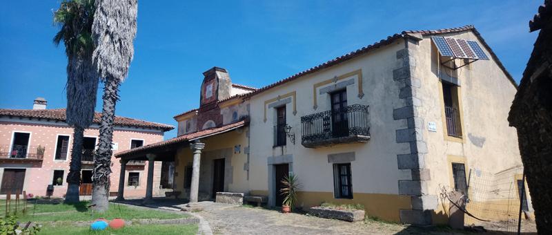 Oficinas del pueblo abandonado de Granadilla