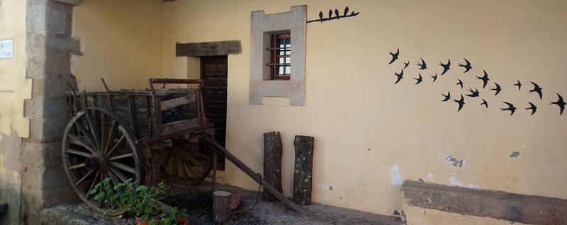 Dibujo en una casa arreglada en Granadilla