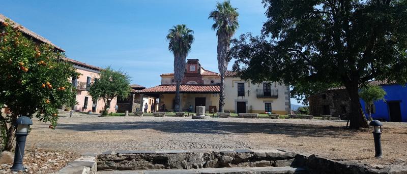 Plaza del pueblo en Granadilla