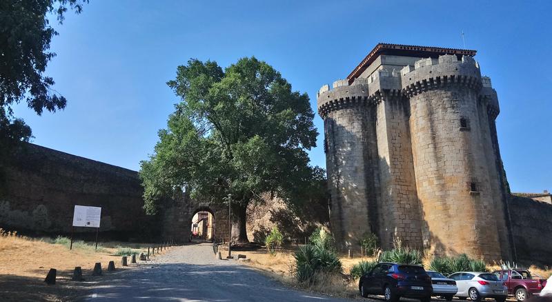 Castillo de Alba en Granadilla