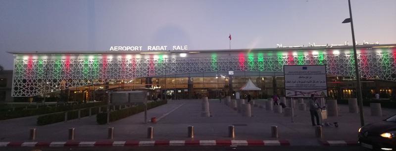 Cómo llegar al Aeropuerto de Rabat
