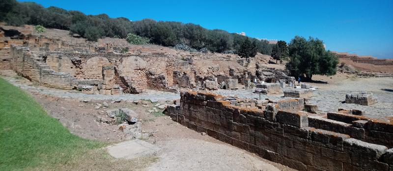 Ruinas romanas en Rabat