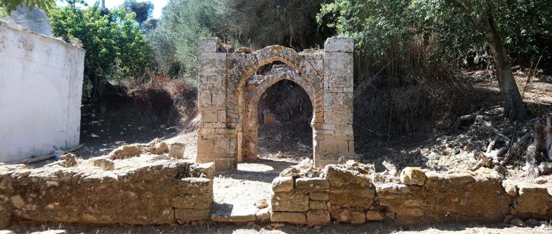 Construcciones romanas en Chellah