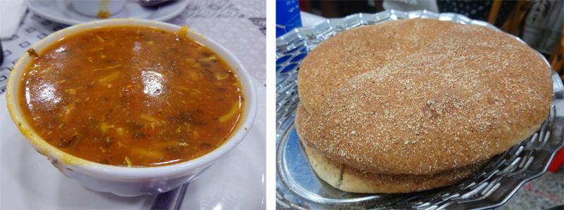 Cenar en la medina de Rabat