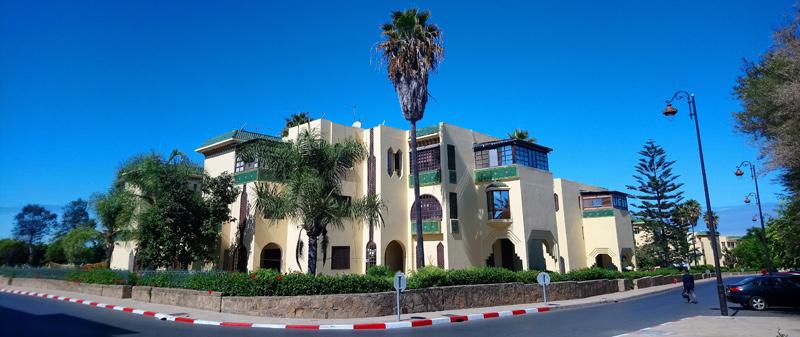 Viviendas para la Guardia Real de Rabat