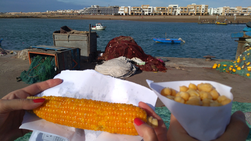 Comida en Rabat