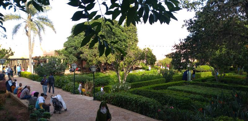 Andalusian Gardens in Rabat