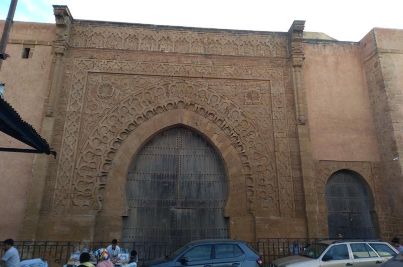 Puerta de la Kashba de los Oudayas en Rabat