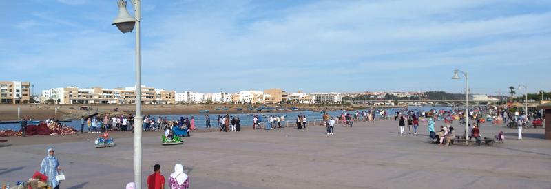 Río Bu Regreg en Rabat