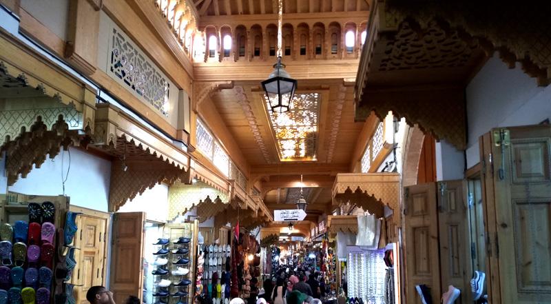 Zoco de Rabat, Marruecos
