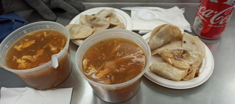 Comer en Fried Dumplings New York